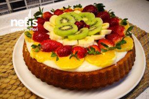 Tart Kek Tarifi Bakmaya Ve Yemeğe Kıyamayacağınız Kek (Videolu)