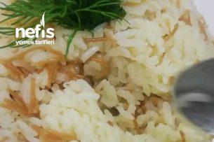 Tel Şehriyeli Pirinç Pilavı (Videolu) Tarifi