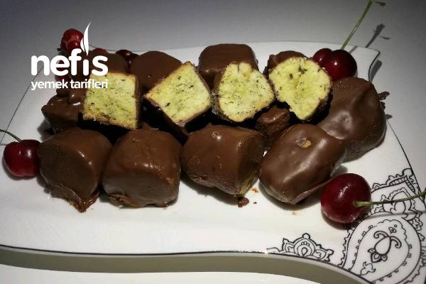 Antep Fıstıklı Çikolatalı Kurabiye Tarifi