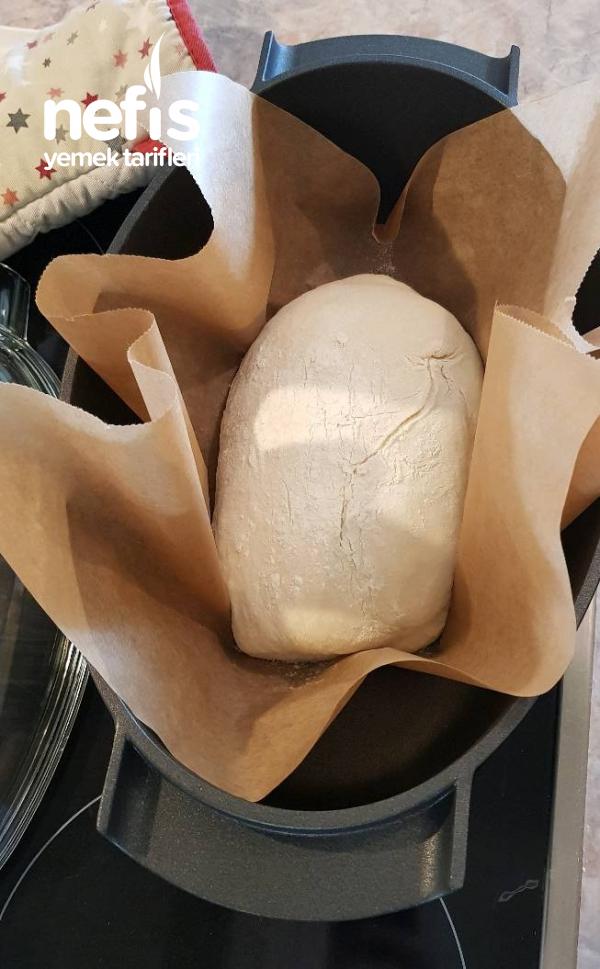 Evde Ekmek (yoğurmadan//no Knead Bread)