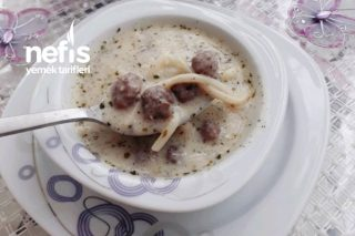 Köfteli Erişte Çorbası (Enfes Lezzet) Tarifi