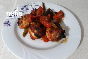 Özel Sosuyla Mangal Tadında Fırında Tavuk Tarifi