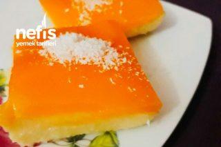 Portakal Aromalı İrmik Tatlısı Tarifi