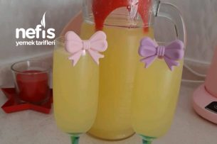 2 Limon 1 Portakal İle Limonata Tarifi
