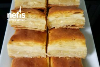 40 Kat Çıtır Çıtır Baklava Börek Tarifi