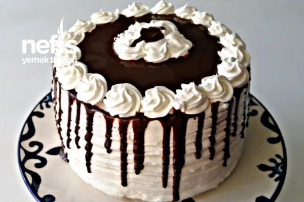 Çikolatalı Yaş Pasta (Videolu) Tarifi