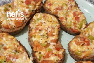 Fırında Peynirli Ekmekler Tarifi