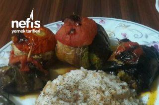 Kabak , Patlıcan Ve Biberli Kürdan Kebabı Tarifi