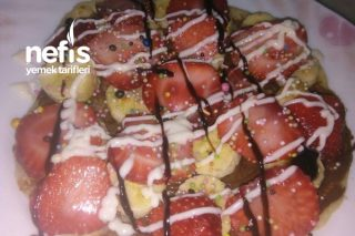 Krep Tavasında Waffle Tarifi