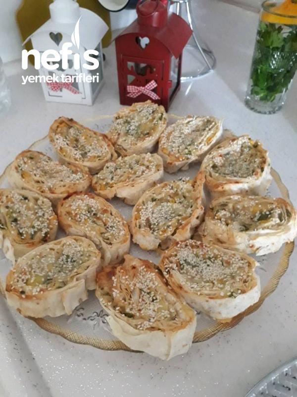 Patatesli Rulo Börek (buzluk)