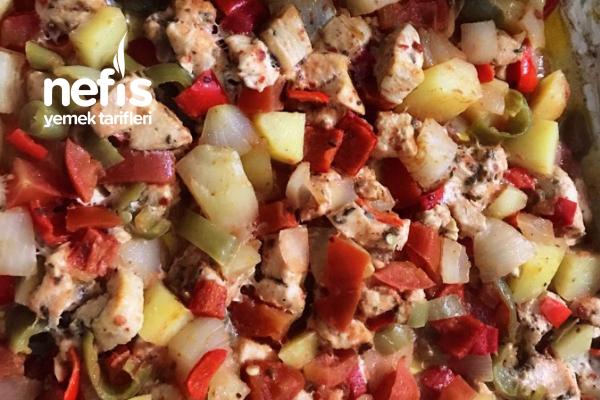 Tavuklu Sebze Kebabı Tarifi