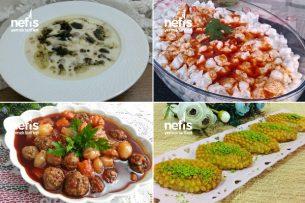 Teremyağlı Göz Dolduran Ramazan Menüsü Tarifi