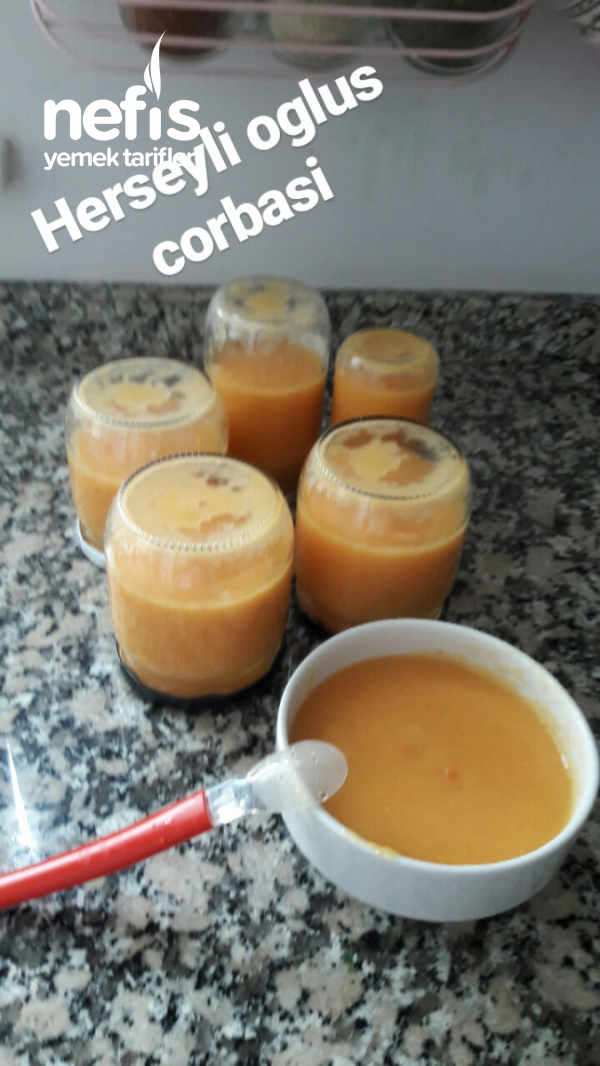 Bebek Çorbası 6+ Kavanoz Maması Ev Yapımı