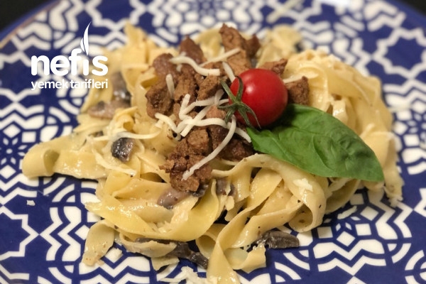 Biftekli Fettuccine Tarifi
