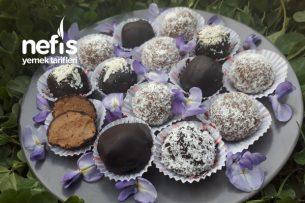 En Lezzetli Kahveli Çikolata Topları Tarifi