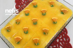 Karemelize Şerbetli Portakallı Etimek Tatlısı ( Videolu ) Tarifi