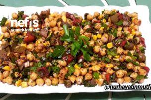 Nohutlu Köz Biberli Nefis Salata Tarifi