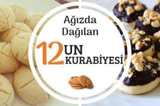 Pastanelere Fark Atan 12 Değişik Un Kurabiyesi Tarifi