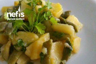 Patatesli Taze Fasulye Yemeği Tarifi