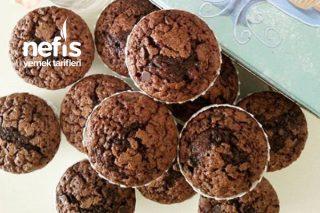 Portakallı Ve Çikolatalı Pamuk Muffin Tarifi