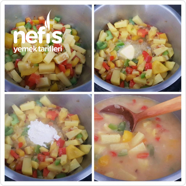 Sebzeli Terbiyeli Tavuk Çorbası