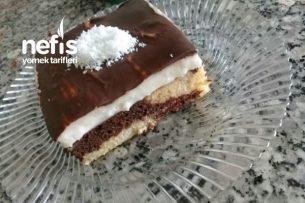 Tatlı Krizi Çekenlere Nefis Görünümüyle Borcamda Pasta Tarifi