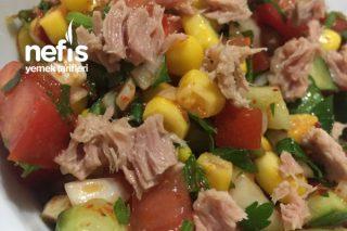 Ton Balıklı Salata Mısırlı Salata Tarifi