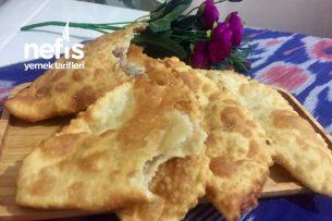 Çiğ börek (Tatar Mutfağından) Tarifi