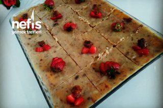 Hurmalı Bisküvili Pasta Tarifi