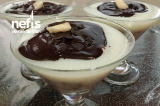 Kupta Dondurmalı , Muzlu Ve Çikolata Soslu Cheesecake Tarifi