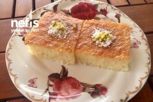 Süt Şerbetli Revani Tarifi