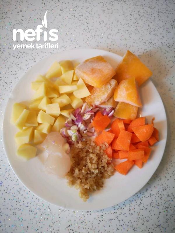 Bulğurlu Sebze Yemeği +8
