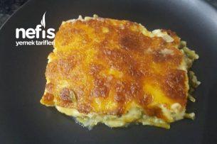 Fırında Patates Ve Ispanak (Beşamel Soslu) Tarifi
