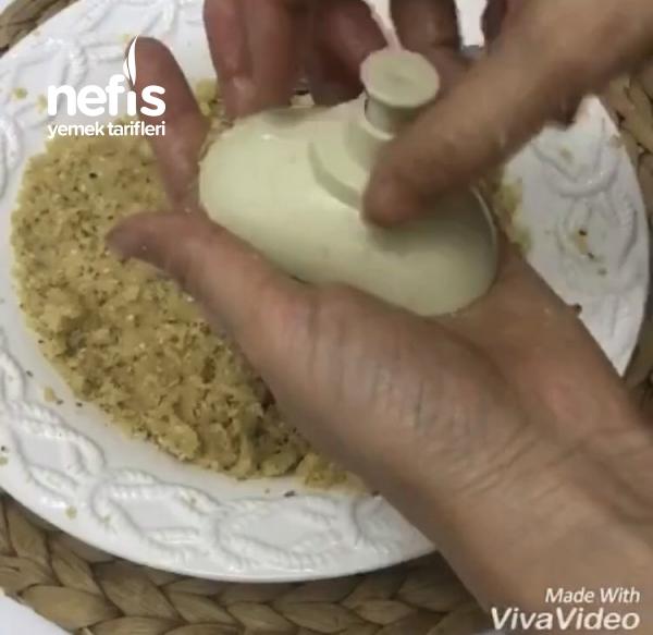 Tahinli Limonlu Basma Kurabiye