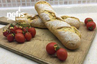 Baget Ekmek ( İçi Tereyağ-Kekik-Sarımsaklı ) Tarifi
