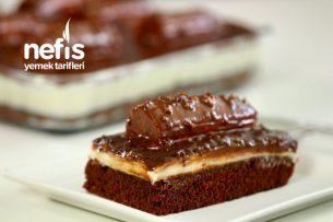 Borcamda 20 Kişilik Pratik Malaga Pasta (Videolu) Tarifi