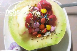 Kavunlu Dondurma (Görenler De Yiyenler De Aşık Olacak) Tarifi