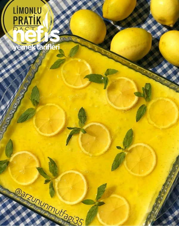 Limonlu Pratik Pasta