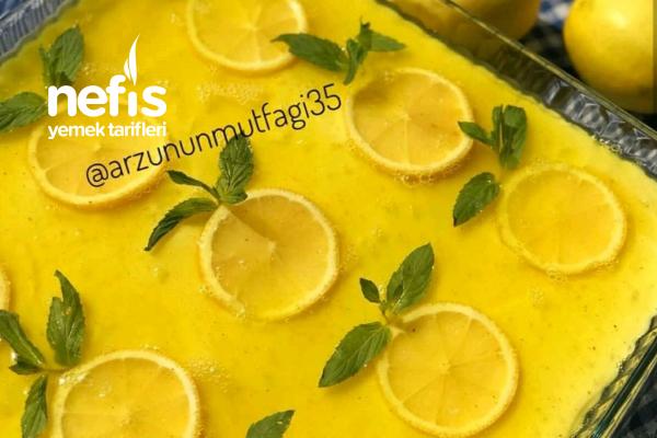 Limonlu Pratik Pasta Tarifi