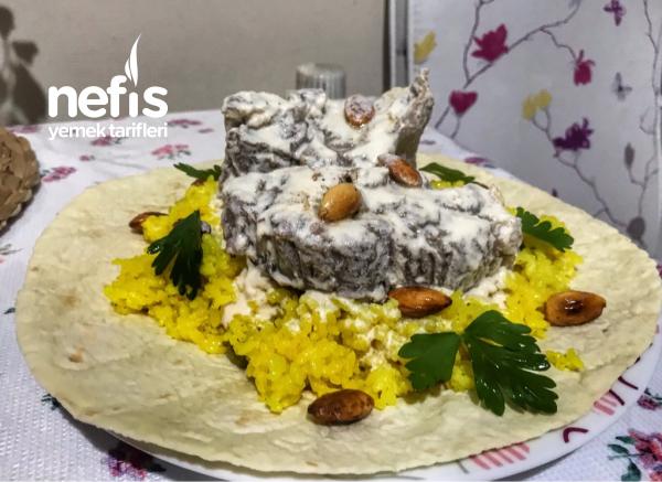 Mansaf (etli Pilav) Ürdün Mutfağı