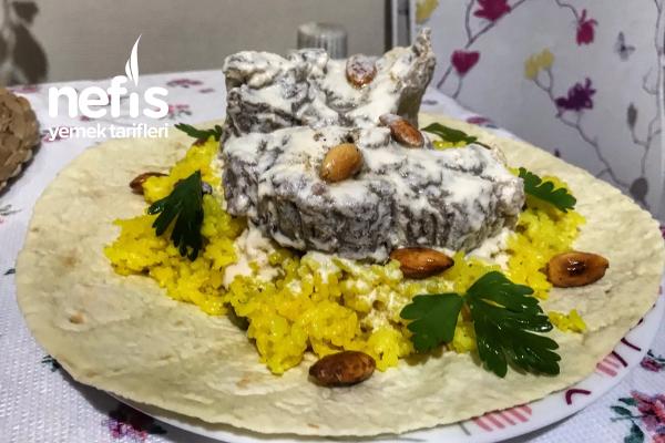 Mansaf (Etli Pilav) Ürdün Mutfağı Tarifi