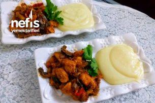 Patates Püresi Ve Tavuklu Mantar Sote Tarifi
