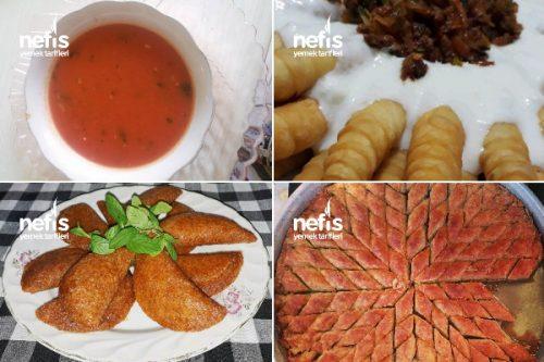Teremyağlı Ramazan Yemekleri Tarifi