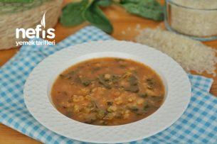 Bol Vitaminli Ispanak Çorbası Tarifi (videolu)