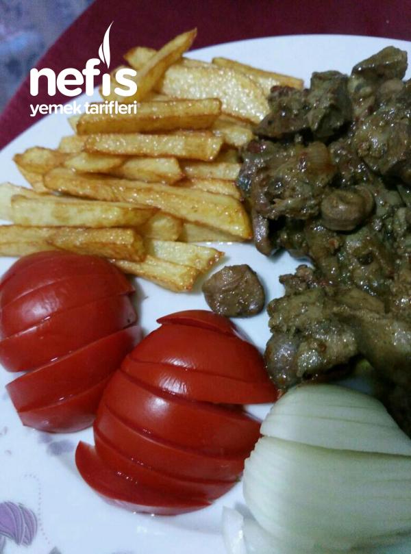 Ciğer Sote Ve Patates Kızartması