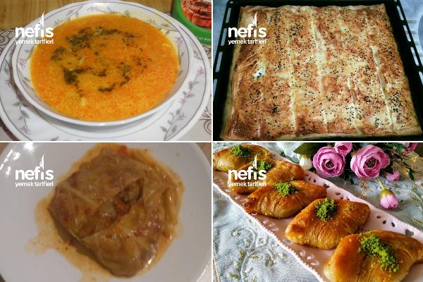 Leziz Ramazan Menüleri