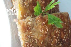 Katmer Hamuruyla Peynirli Börek Tarifi