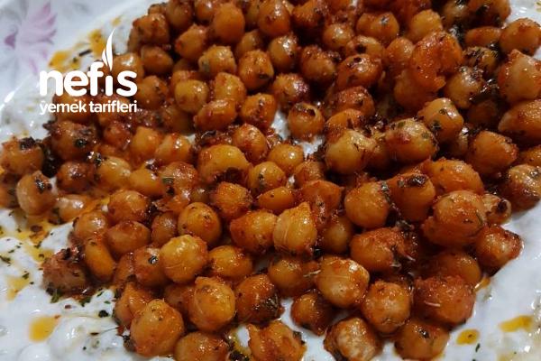 Patlıcan Ezmeli Nohutlu Meze Tarifi
