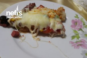 Pizza Lezzetli Pratik Tarifi