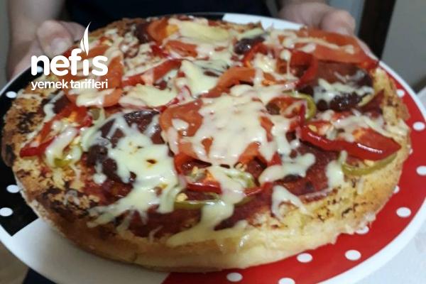 Sahura Bazlamadan Pizza